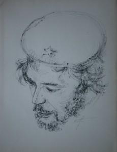 Che Guevara. Litografía. 1980