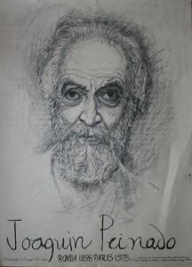 Joaquín Peinado. Litografía. 1979