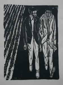 La ilusión. Xilografía. 1960