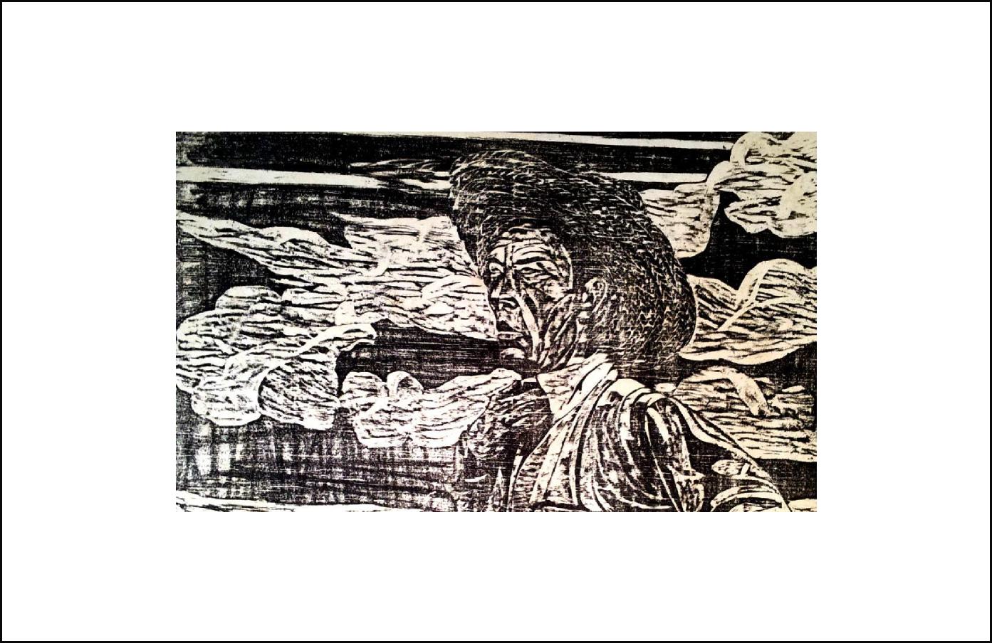Xilografía de Cristóbal Aguilar