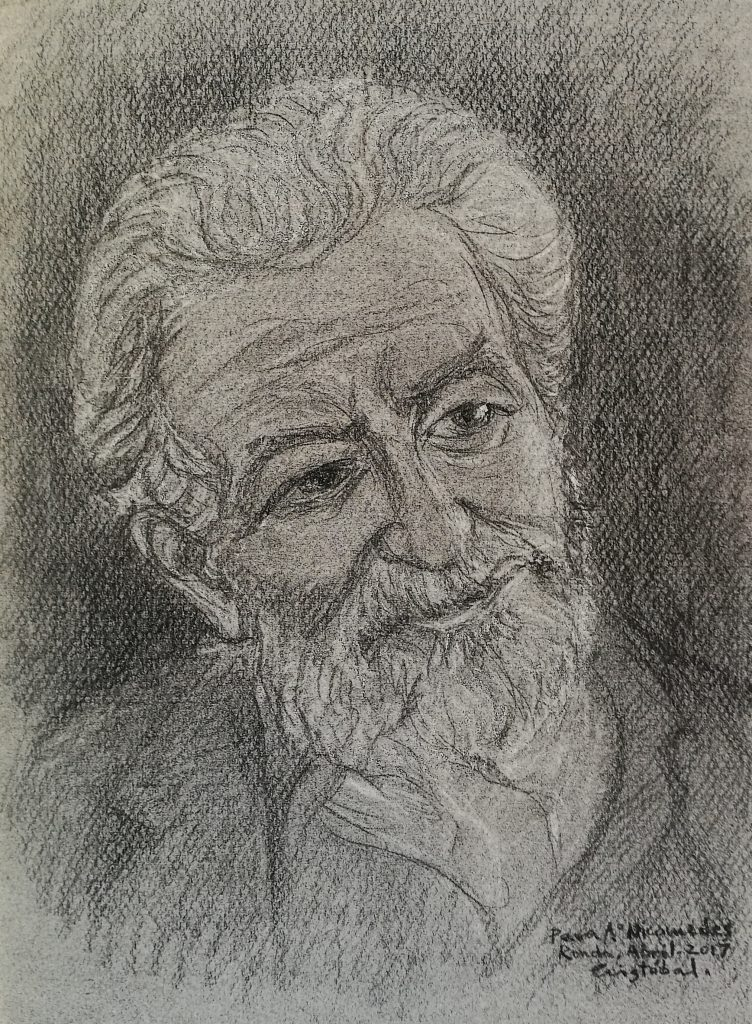 Dibujo de Cristóbal Aguilar
