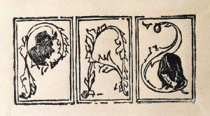 Xilografía. Cristóbal Aguilar
