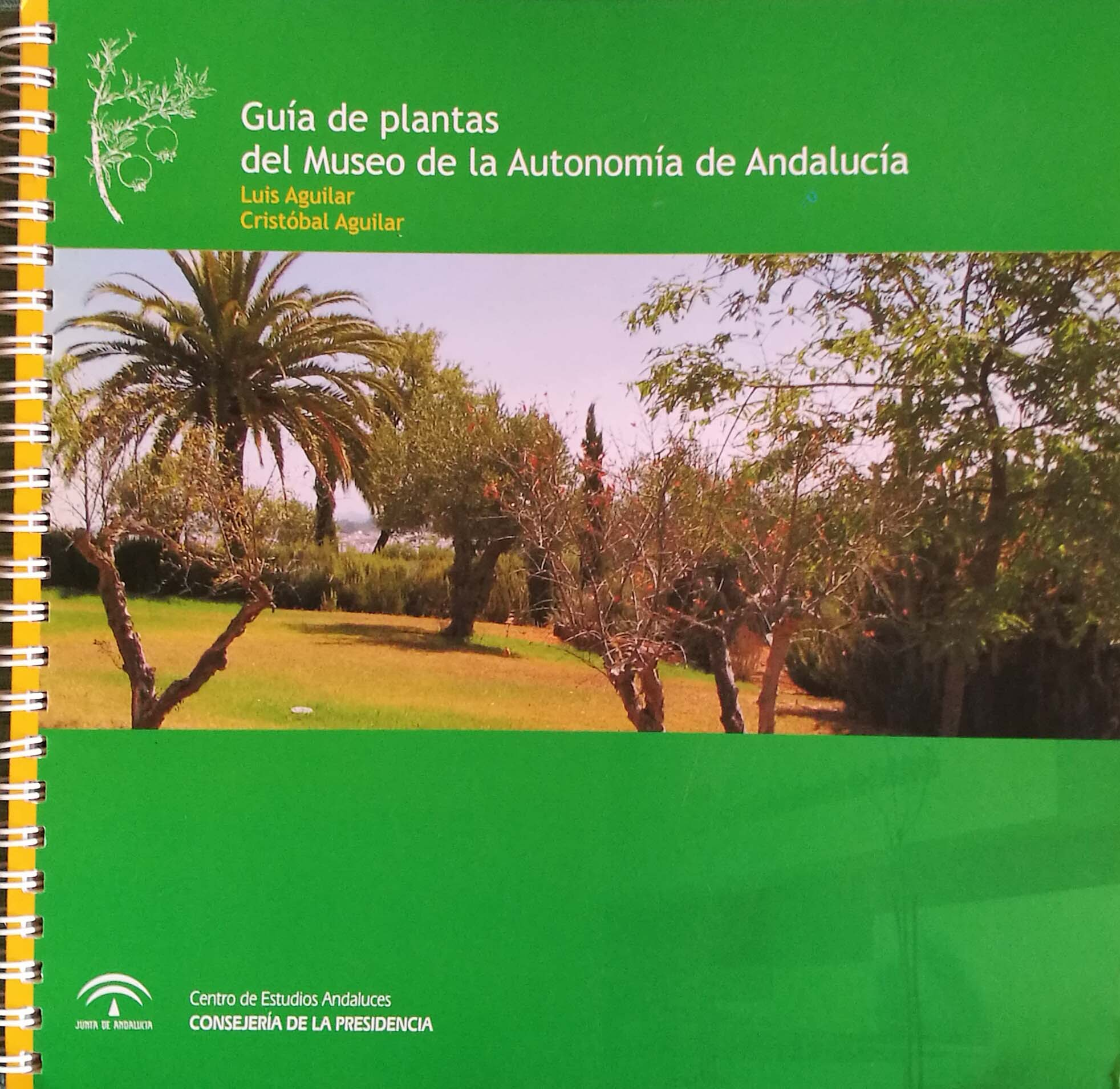 Museo de la Autonomía de Andalucía. Guía de plantas